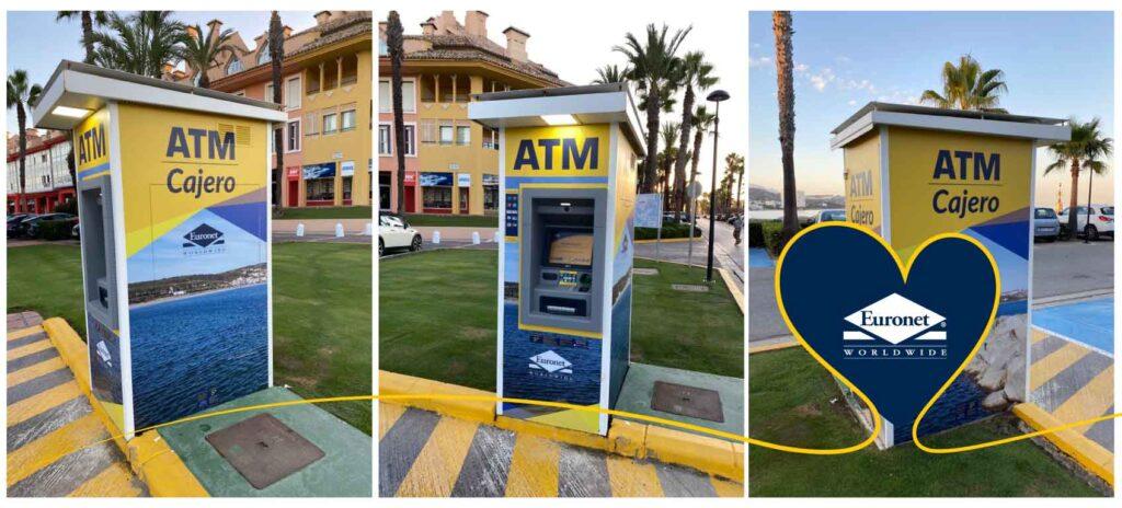Cajeros automáticos para la comunidad